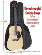 Performance Plus GB565 Heavy Duty 600 Denier Nylon Dreadnought Guitar Bag