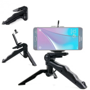 DURAGADGET High Quality Black Multi-Functional Mini Tripod / Monopod for the NEW for for for for for for for for for for Samsung Galaxy Note5 Smartphone