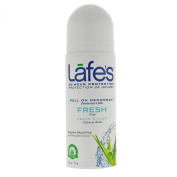 Lafe's Natural Body Care, Roll On Deodorant, Fresh, 3 oz