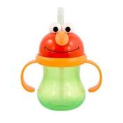 Munchkin Sesame Street Elmo Character Straw Drinking Cup 240ml (Green) by Munchkin