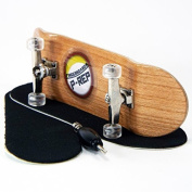 P-REP 30mm Basic Complete Fingerboard Kit with Liquid Hardware - Cherry