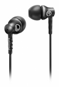 Philips SHE8100BK/00 In-Ear Headphones with 8.6 mm Drivers, Semi-Closed Back and Metal housing - Black