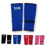 Twins Special Ankle Guard Support Protector AG Colour Black, Blue, Red, Pink, Size M, L for Protection in Muay Thai, Boxing, Kickboxing, MMA