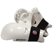 Proforce Lightning Sparring Gloves / Punches - White Child Large