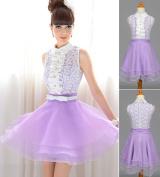 Sweet as Lilac Mini Dress size 8/10