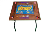 Puerto Rico Domino Table with the Map