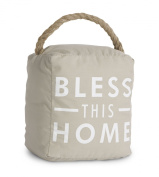 Pavilion Gift Company 72151 Bless This Home Door Stopper, 13cm by 15cm
