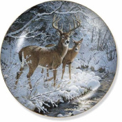 Creekside Whitetail Deer by Persis Clayton Weirs 21cm Decorative Collector Plate