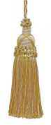 Decorative 14cm Key Tassel, Light Gold, Ivory Imperial II Collection Style# KTIC Colour
