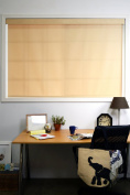 Chicology Cordless Roller Shade, 80cm by 180cm , Mountain Almond