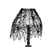 Heritage Lace Creepy Crawly 150cm Wide by 60cm Drop Four-Way, Black