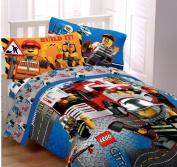 Lego City Twin Comforter & Sheet Set