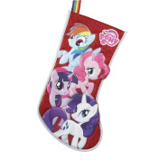 My Little Pony Red Applique Stocking, 48cm