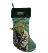 46cm Star Wars Yoda St Nick Christmas Stocking