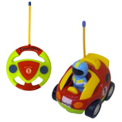 Dimple Cartoon Remote Control Racing Car with Music & Lights