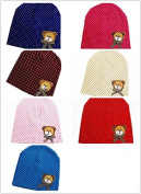 BuyHere Unisex Baby Bear Labelling Hats  Pack of 7 pcs