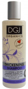 DGJ Organics Thickening Shampoo with Caffeine & Lavender Essential Oils 250ml