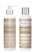 For All My Eternity Gradual 10 AWARD-WINNING GRADUAL TAN LOTION Everyday Sunless Tanning Cream Creme 250ml Natural and Organic Ingredients PLUS Tan Saving Shower Gel to Extend Your Self Tan NO STREAKS NO SMELL
