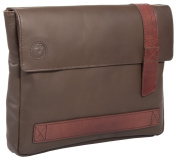Uberbag Trooping The Colour Brown Leather Military Men Clutch