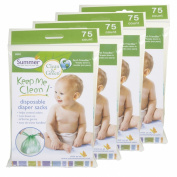 300 ct. Keep Me Clean Disposable Nappy Sacks