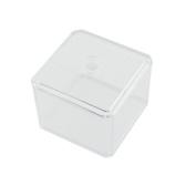 Owfeel(TM) Clear Square Makeup Cotton Pad Swabs Holder Storage Organiser Box Cosmetic Makeup Organiser
