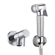 ENKI® Handheld Brass Toilet Bathroom Bidet Doushe Shower Head Spray Nozzle Set
