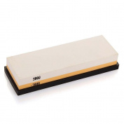 HornTide 2000/5000 Grit Combination Whetstone Two-Sided Knife Sharpener Sharpening Stone 18cm Plastic Stand Included