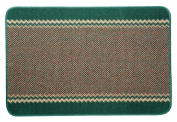 William Armes Kilkis Washable Kitchen Rug Emerald 150x100cm