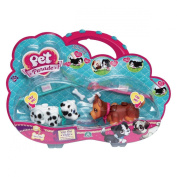 Pet Parade Dalmatian and Yorkshire Terrier Twin Puppy Pack