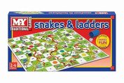 M.Y Kids Family Traditional Game Snakes and Ladders Set Board Game