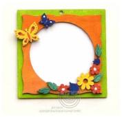 Hobaku 10 x 10 cm Do It Yourself Butterfly Frame Kit