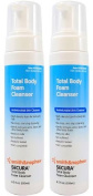 Secura Total Body Antimicrobial Foam Cleanser - 250ml Bottle - Pack of 2