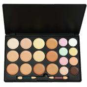 LEFV™ 20 Colour Concealer Camouflage Palette Professional Cosmetics Foundation Makeup Set Cover Speckled Freckle Kit