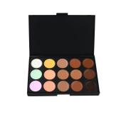 LEFV™ Professional 15 Colour Makeup Cosmetic Concealer Camouflage Foundation Palette Primer Contouring Set