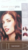 IRENE GARI Cover Your Grey Stick for Women DARK BROWN 5ml/4.2g