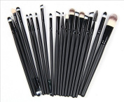 Kolight® 20pcs Cosmetic Makeup Brushes Set Eyeshadow Lip Brush for Beautiful Female