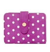 Deux Lux Sweetspot Polka Dot ID Case, Violet