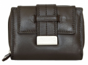Women's Brown Nice Quality Soft Genuine Leather Wallet Roberto