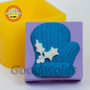Christmas Mitten Soap Mould Food-grade Silicone Moulds Mould for Soap Christmas Mould Mould New Year Mould.