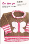 Roo Designs Child's Butterfly Pullover Knitting Pattern