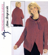 Trendsetter Yarns Lane Borgosesia Knitting Pattern JSS #16 Boxes Drape