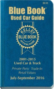 Kelley Blue Book Consumer Guide Used Card Edition
