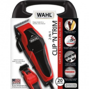 Clip 'N Trim Clipper & Trimmer Built-in Detail Trimmer for Sideburns and Necklines, and Around the Ears