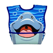 Dex Baby Dura Bib Big Mouth (DOLPHIN) by Dex