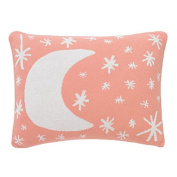 Dwell Studio Galaxy Knitted Boudoir Pillow in Blossom