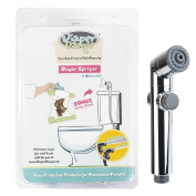 High Powered Cloth Nappy Sprayer with Transparent Spray Shield, Complete Kit