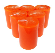 Collumino Solid Colour Pillar Candles 30 hour Size 8 x 5.5cm