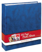 Photo Album 100 Self Adhesive Pages - Blue