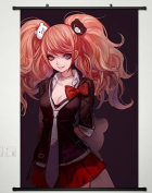 Wall Scroll Poster Fabric Painting For Anime Danganronpa Enoshima Junko 050 L