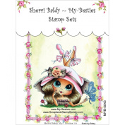 My-Besties MYB43 Clear Stamp, Butterfly Betsy, 10cm x 15cm